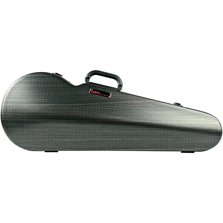 Bam 2200XL Contoured Hightech Adjustable Viola Case Black Lazure