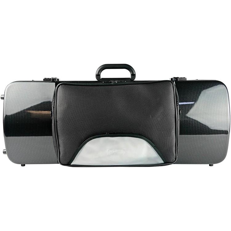 Bam2202XL Hightech Large Adjustable Viola Case with PocketBlack Carbon
