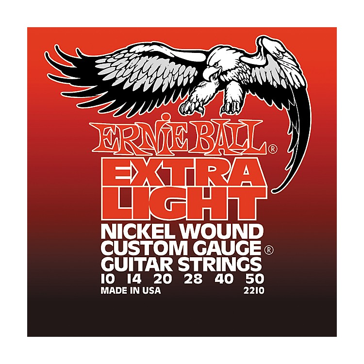Ernie Ball 2210 Slinky Nickel Wound Extra Light Electric Guitar Strings