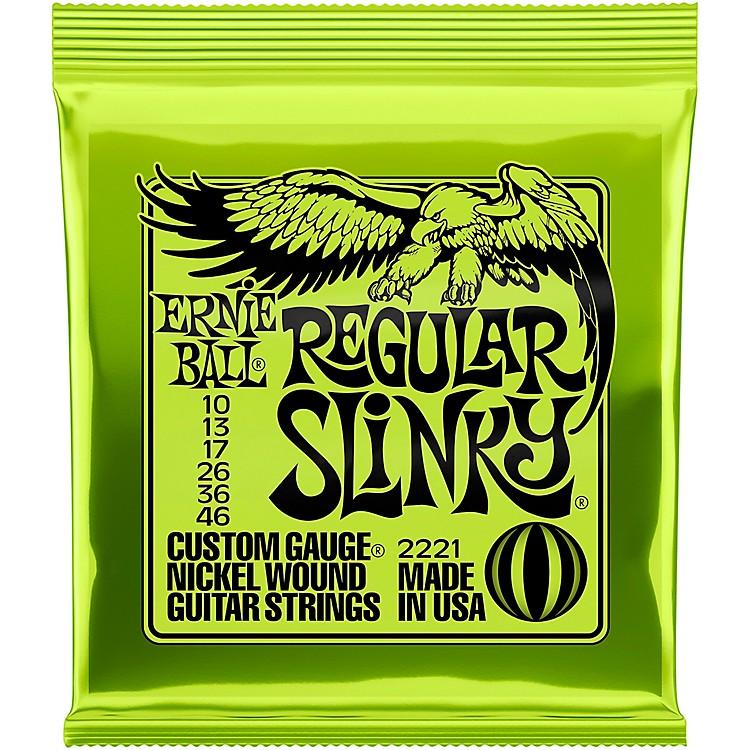Ernie Ball2221 Nickel Regular Slinky Electric Guitar Strings