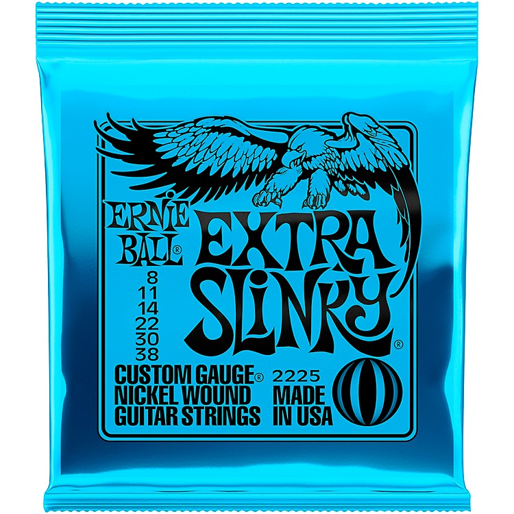 Ernie Ball 2225 Nickel Extra Slinky Electric Guitar Strings