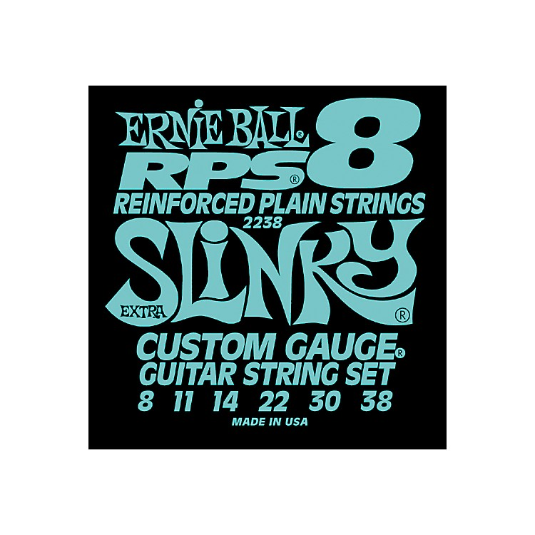 Ernie Ball 2238 Extra Slinky RPS 8 Electric Guitar Strings
