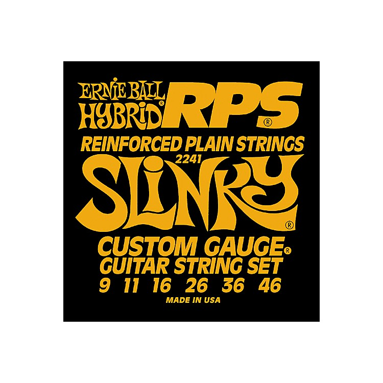 Ernie Ball 2241 Hybrid Slinky RPS 9 Electric Guitar Strings