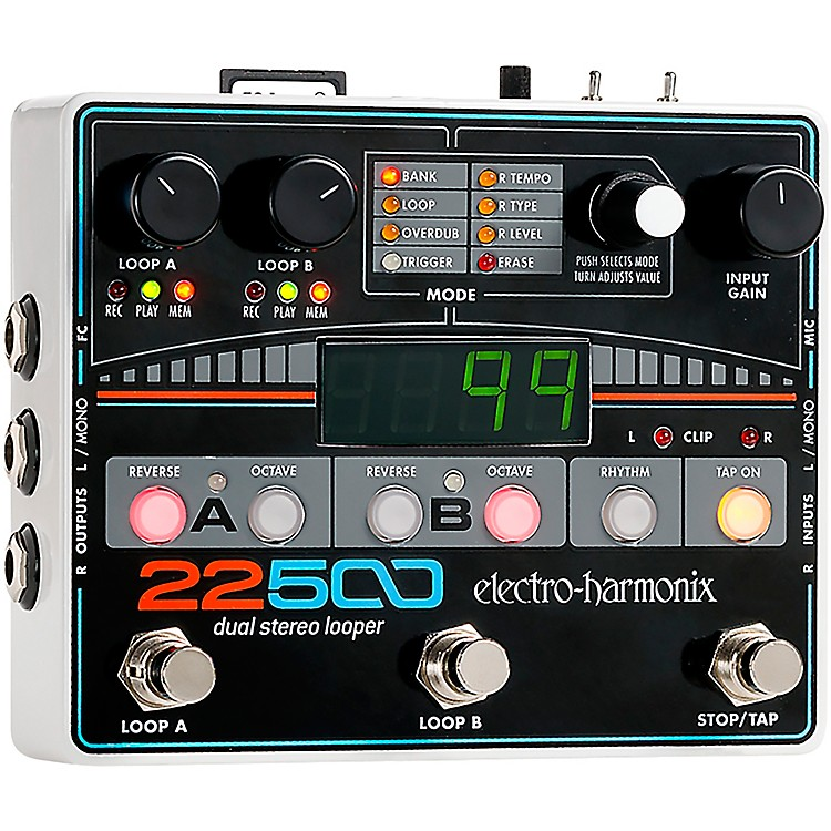 Electro-Harmonix22500 Multi-Track Recording Looper Pedal