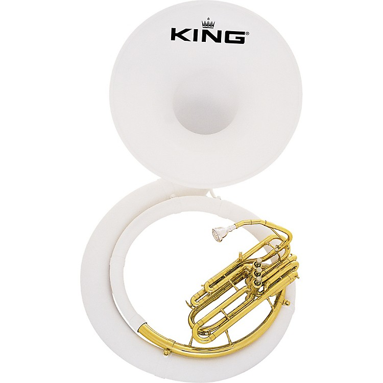 King2370 Fiberglass Sousaphone2370W Instrument With Case