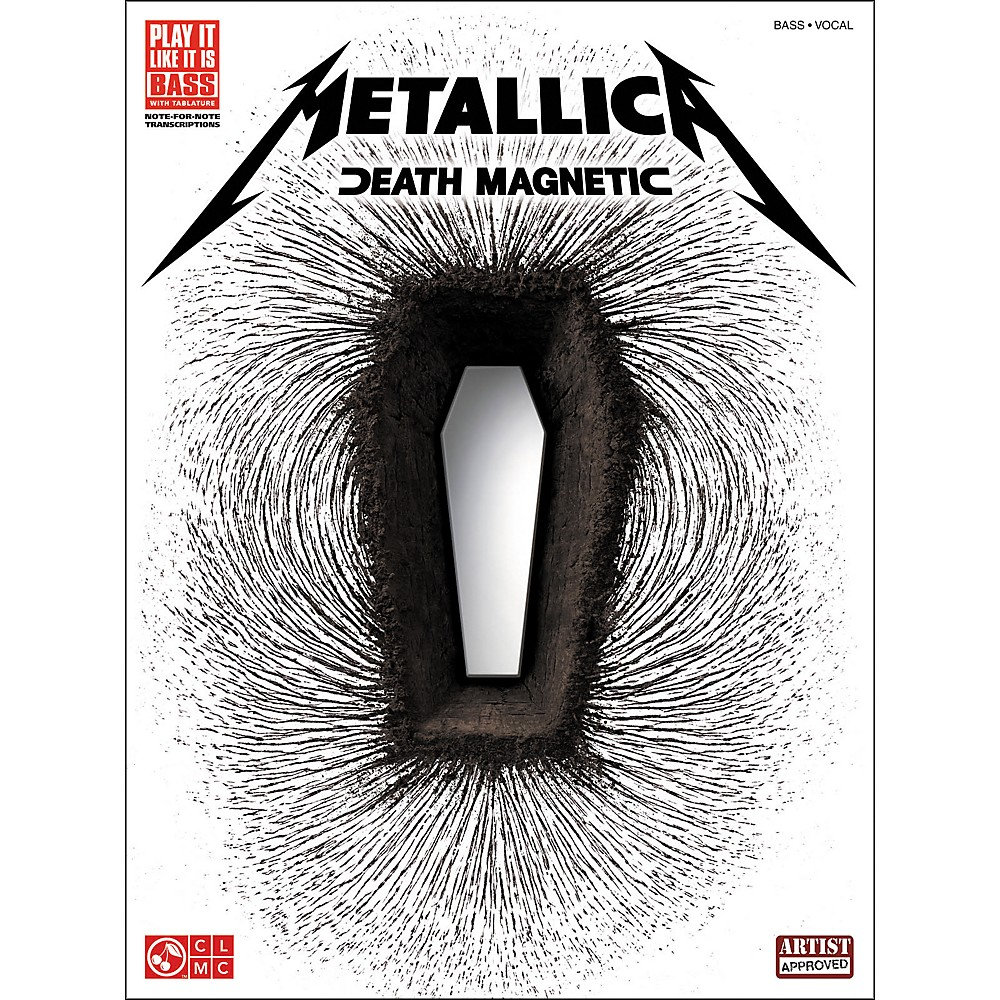 Cherry Lane Metallica Death Magnetic Bass Tab Songbook