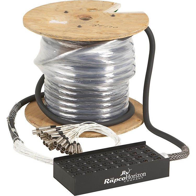 Live Wire 24X8 XLR Fan-Box Snake  125 ft.
