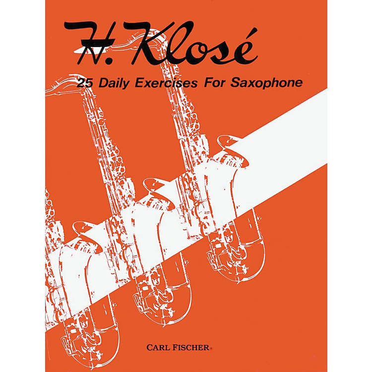 Carl Fischer25 Daily Exercises For Saxophone Book
