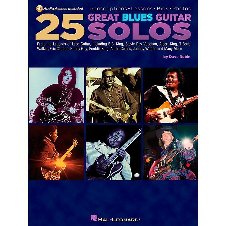 Hal Leonard25 Great Blues Guitar Solos (Book/CD)