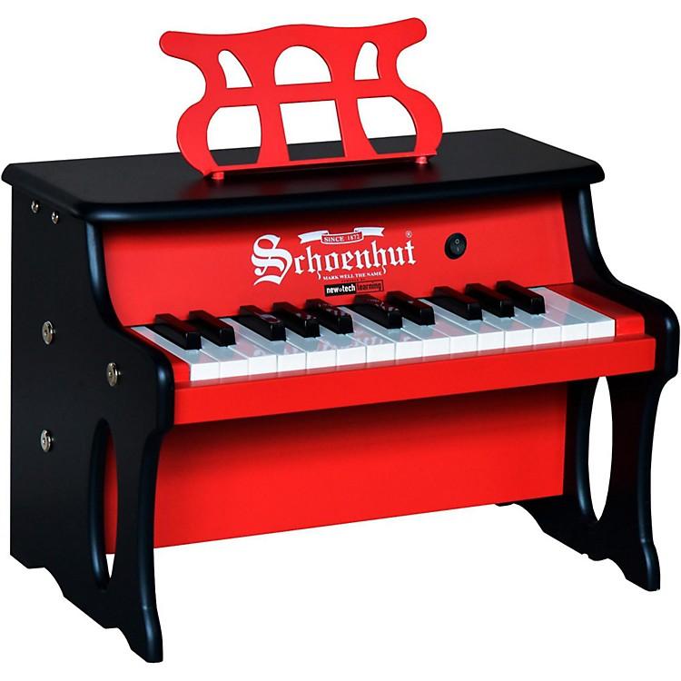 Schoenhut25 Key 2 Toned Table TopRed/Black