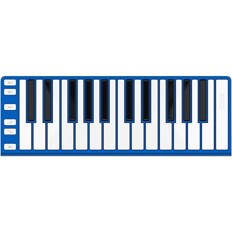 CME 25 Key Mobile Keyboard Controller Blue