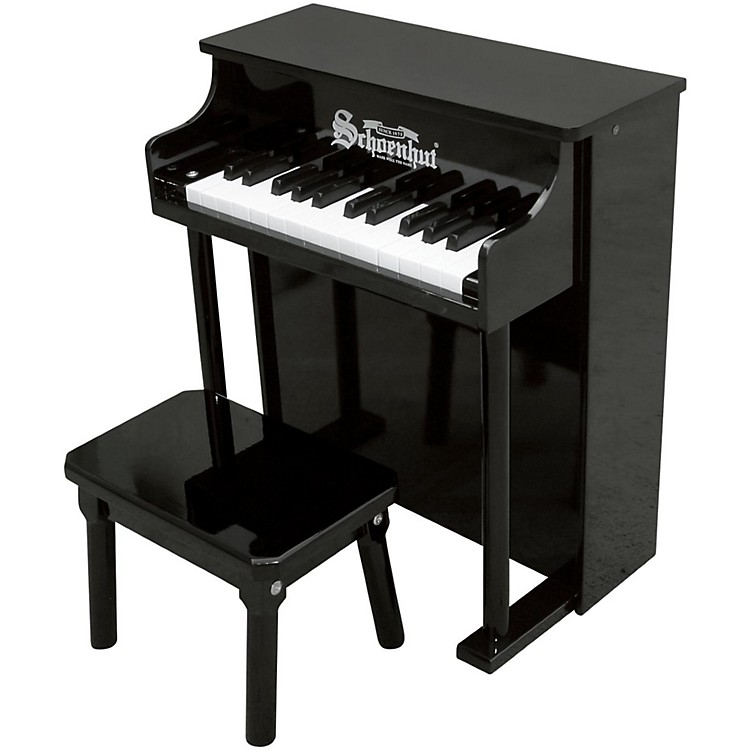 Schoenhut 25- Key Traditional Spintet Black