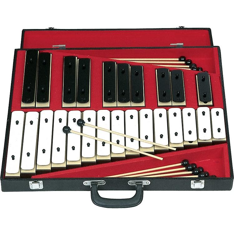 Rhythm Band25 Note Chromatic Plastic Resonator Bell Set