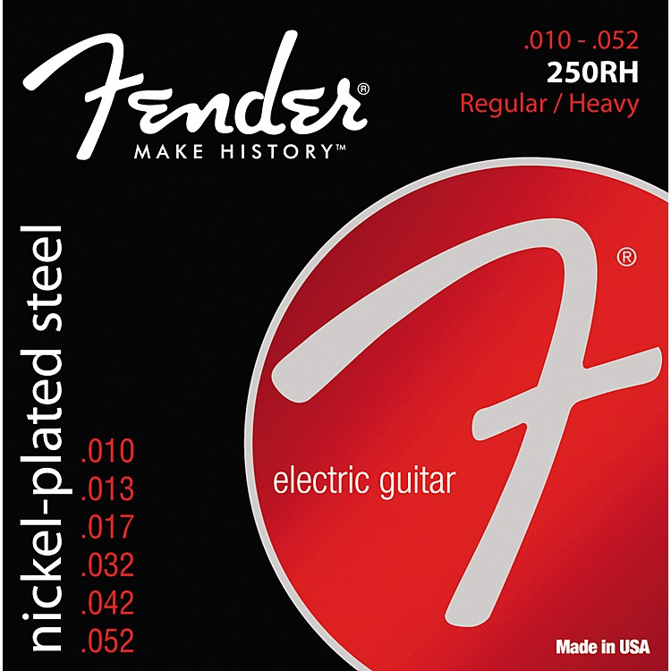 Fender 250RH Super 250 Nickel-Plated Steel Electric Strings - /Heavy