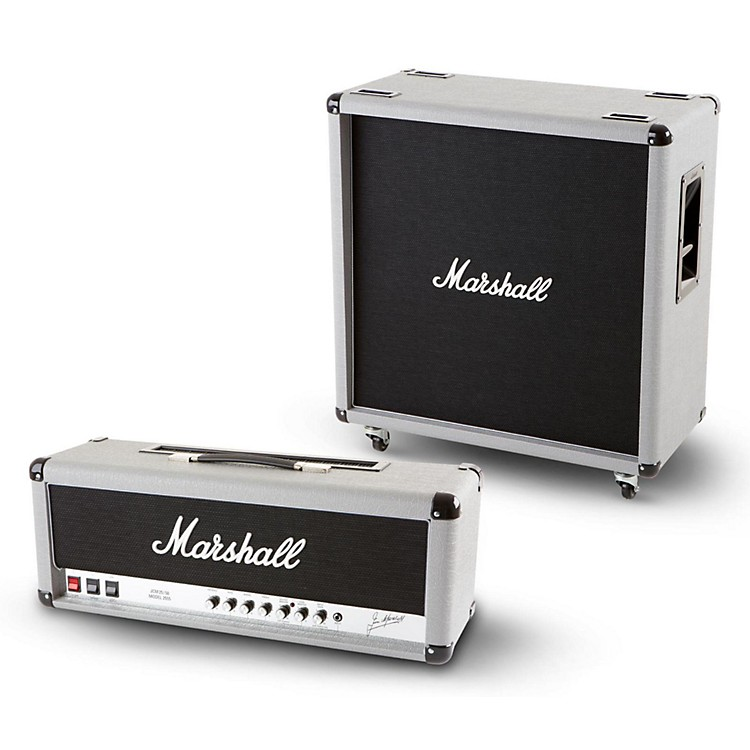 Marshall2555X Silver Jubilee 100W Half Stack with 240W 2551BV Straight 4x12 Cabinet