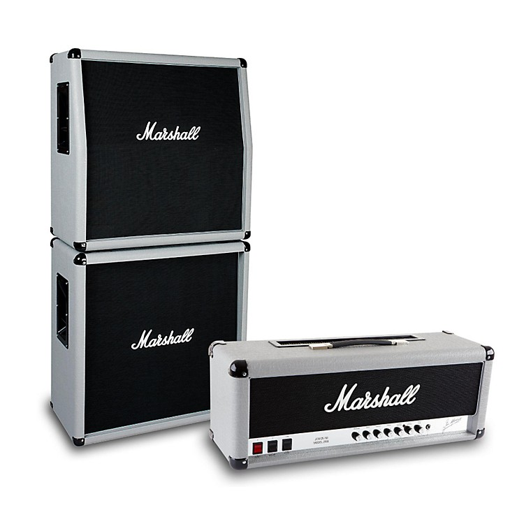 Marshall2555X Silver Jubilee 100W Half Stack with Angled 4x12 Cabinet