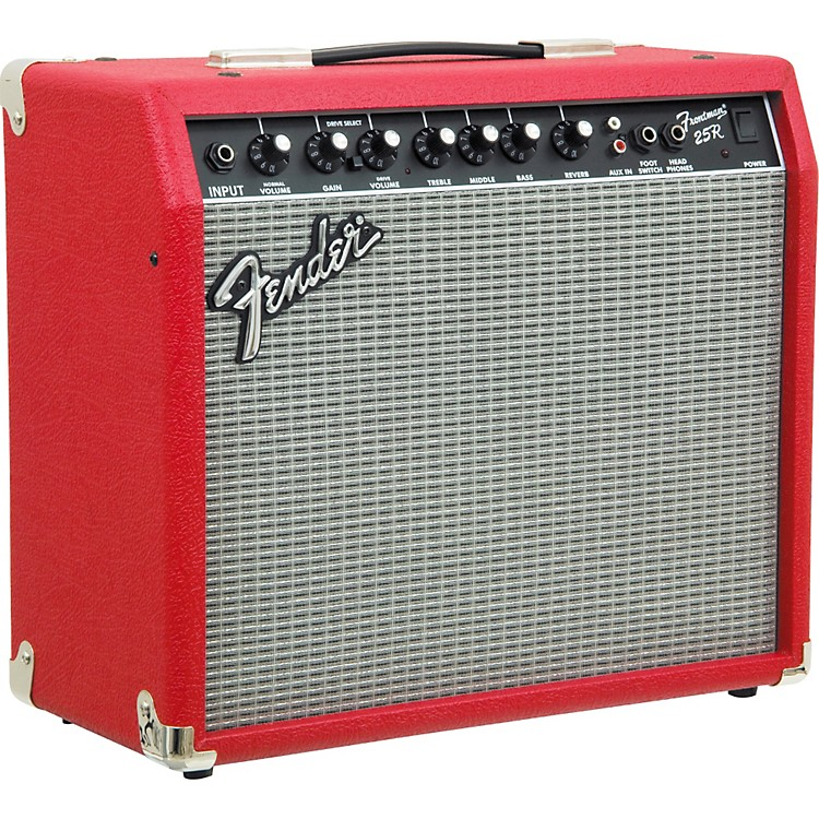 Fender 25R Frontman Series II 25W 1x10 Guitar Combo Amp Texas Red