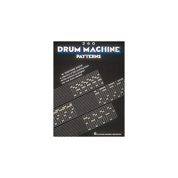 Hal Leonard260 Drum Machine Patterns