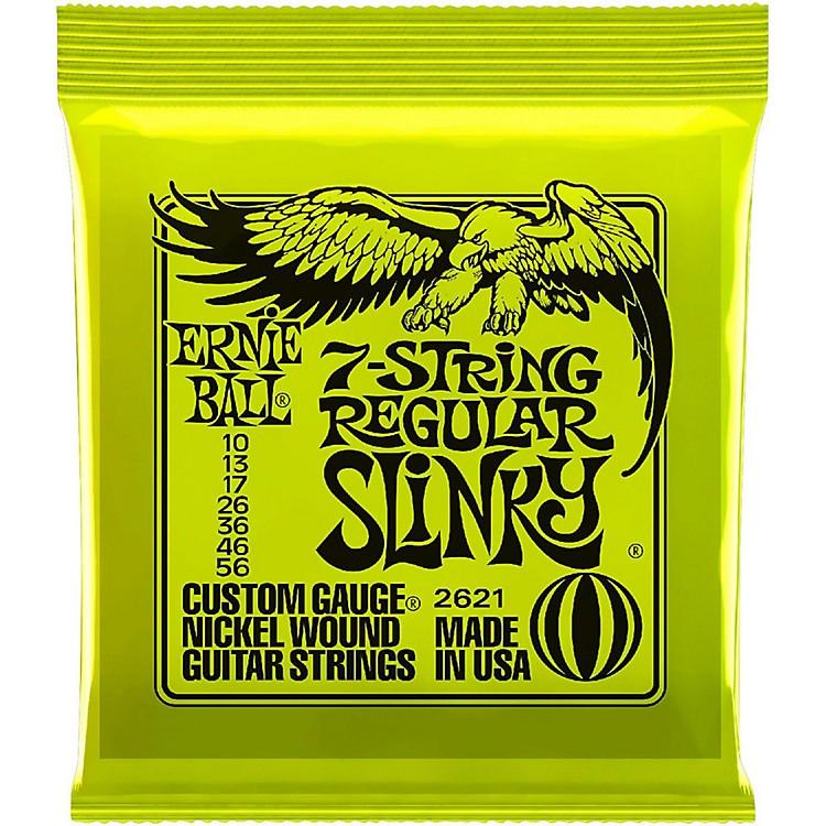 Ernie Ball2621 Nickel 7-String Slinky Electric Guitar Strings