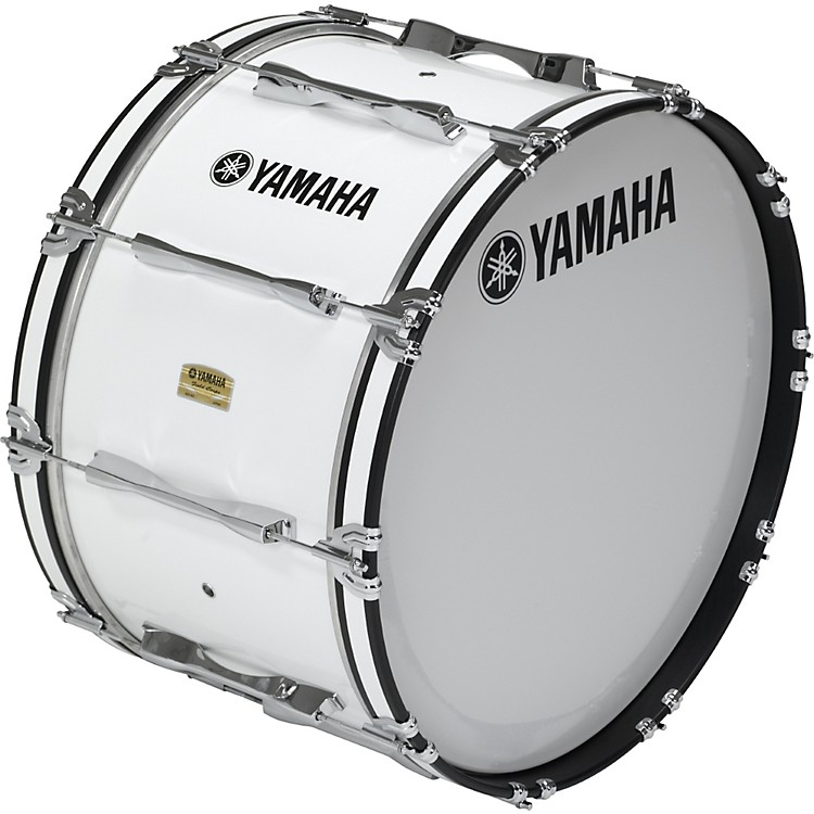 Yamaha 26x14 8200 Field Corp Series Bass Drums White 26x14