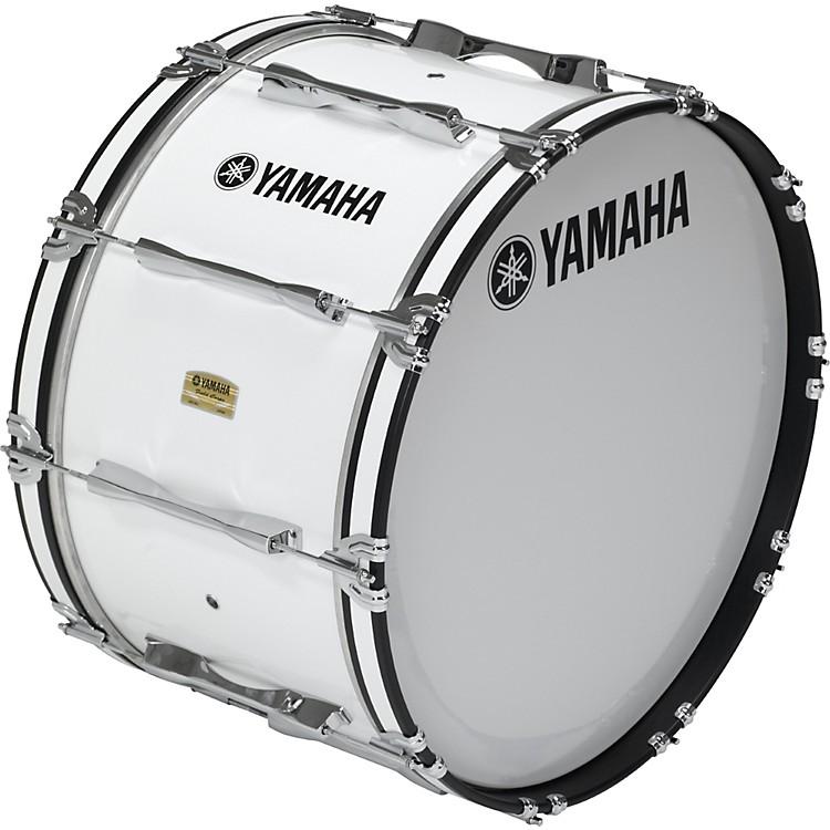 Yamaha26x14 8200 Field Corp Series Bass DrumsWhite 26x14