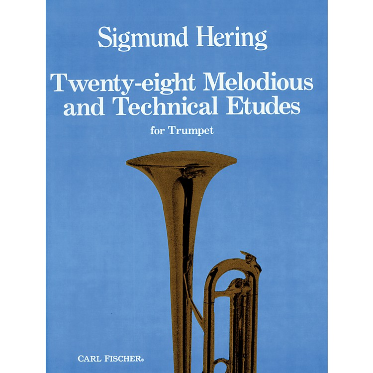 Carl Fischer28 Melodious and Technical Etudes for Trumpet