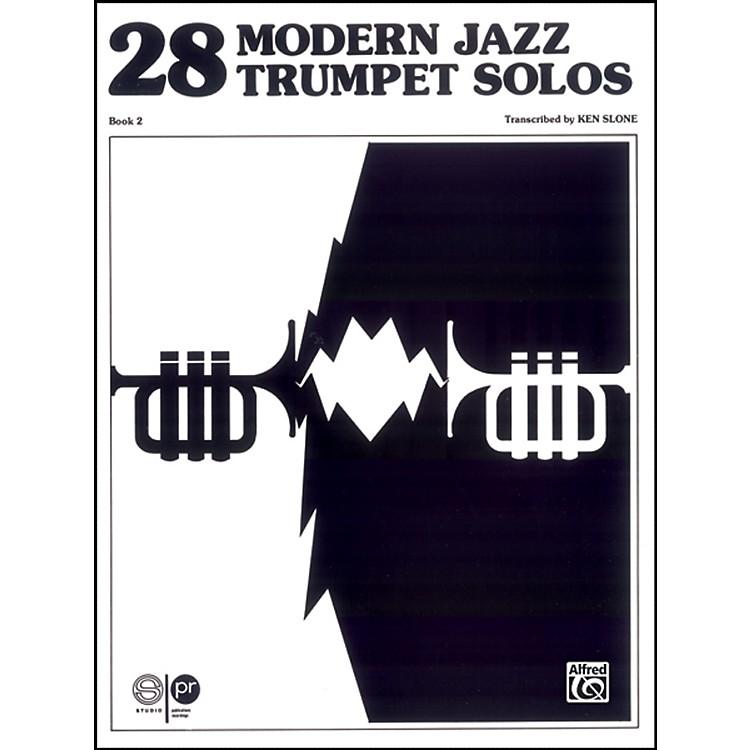 Alfred28 Modern Jazz Trumpet Solos Book 2