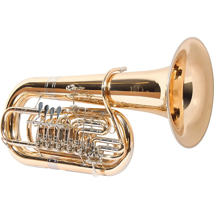 Miraphone281 Firebird Series 6-Valve 5/4 F Tuba281G Gold Brass