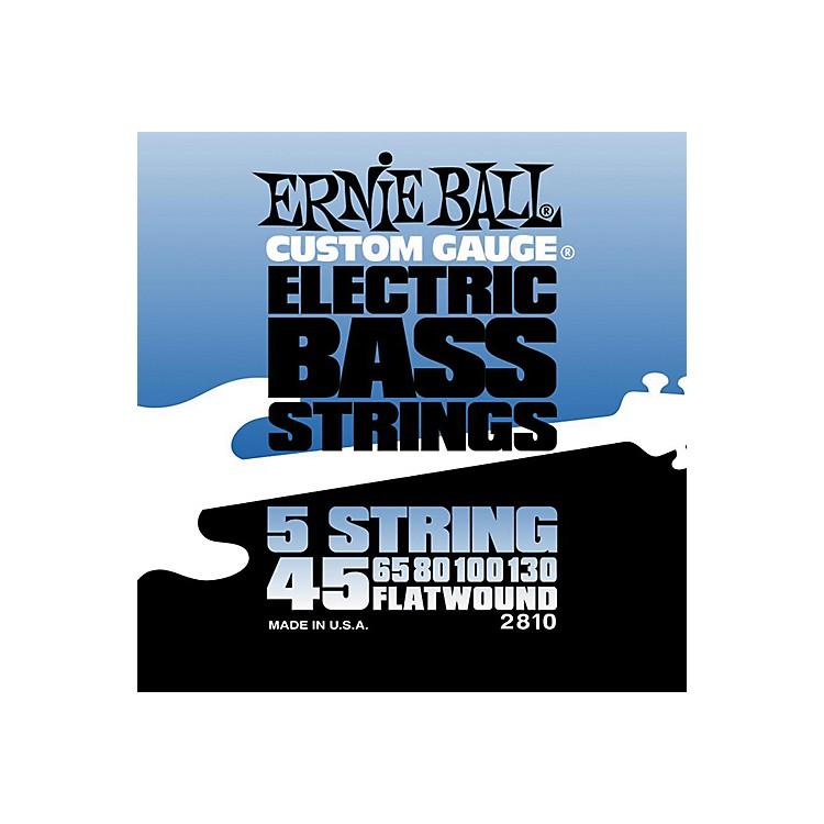 Ernie Ball2810 Flatwound 5-String Bass Strings Set