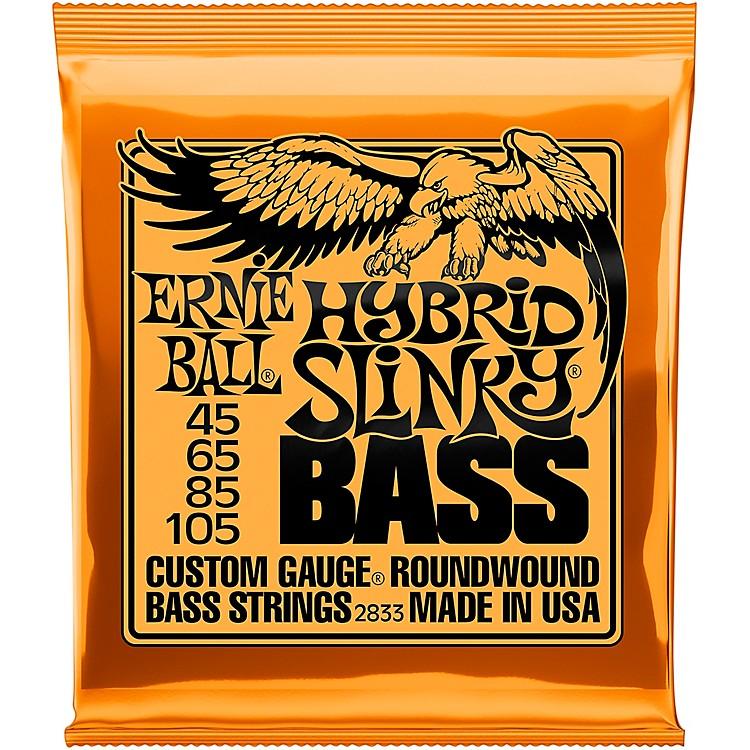 Ernie Ball2833 Hybrid Slinky Round Wound Bass Guitar Strings