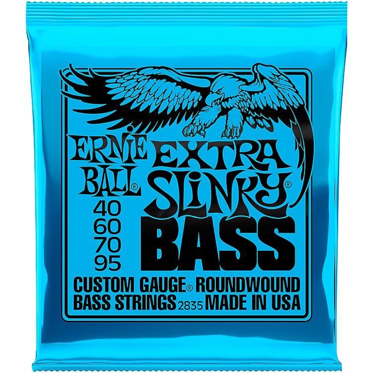 Ernie Ball2835 Extra Slinky Round Wound Bass Strings