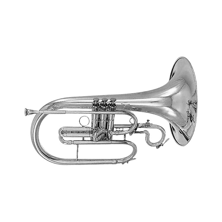 Kanstul 284 Series Marching F French Horn 284-2 Silver