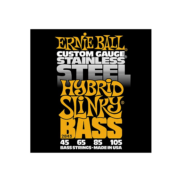 Ernie Ball 2843 Hybrid Slinky Stainless Steel Bass Strings
