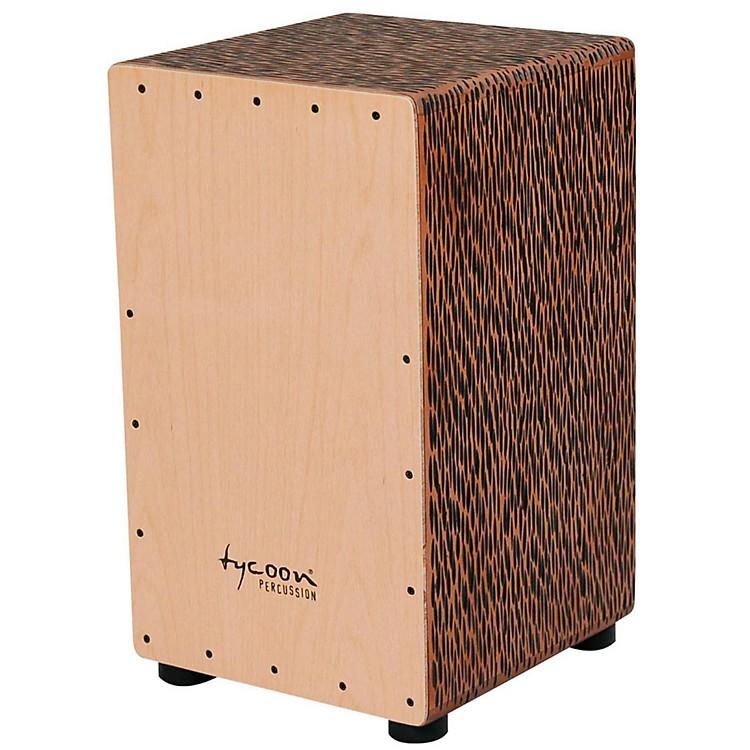Tycoon Percussion29 Series Supremo Select CajonChiseled Orange