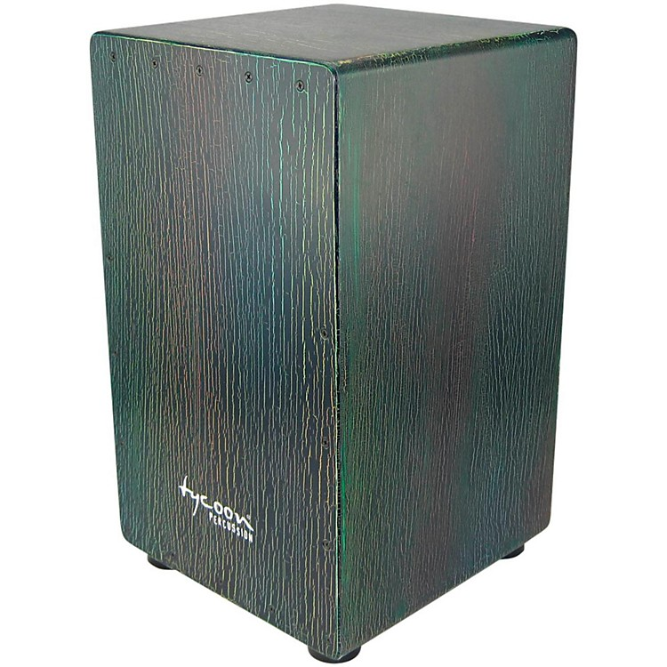Tycoon Percussion 29 Series Supremo Select Cajon Dark Iris Finish