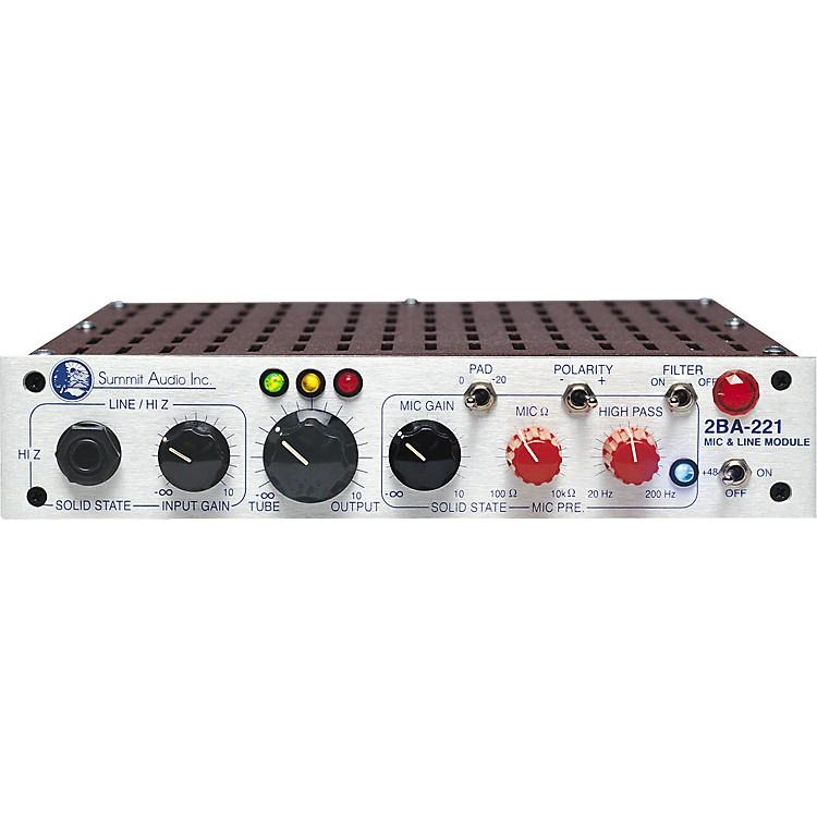 Summit Audio2BA-221 Tube Mic and Line Module