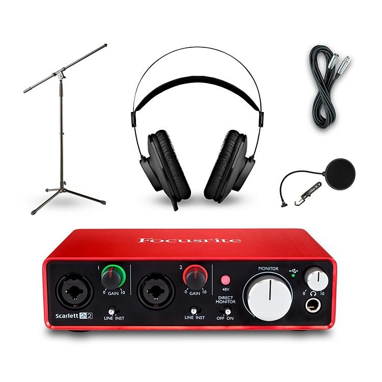 Focusrite2i2 Recording Bundle With AKG K52 Headphones