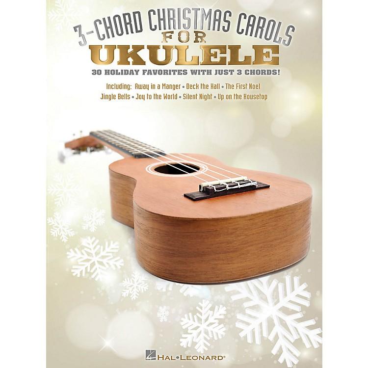 Hal Leonard3-Chord Christmas Carols For Ukulele