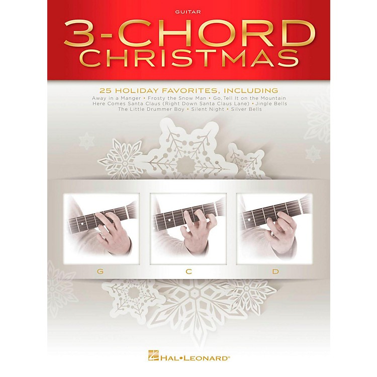 Hal Leonard3-Chord Christmas (Three Chord) G-C-D Guitar Songbook