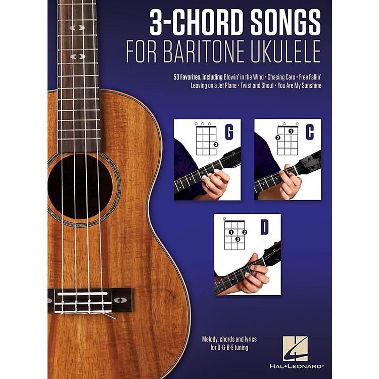 Hal Leonard3-Chord Songs For Baritone Ukulele (G-C-D)