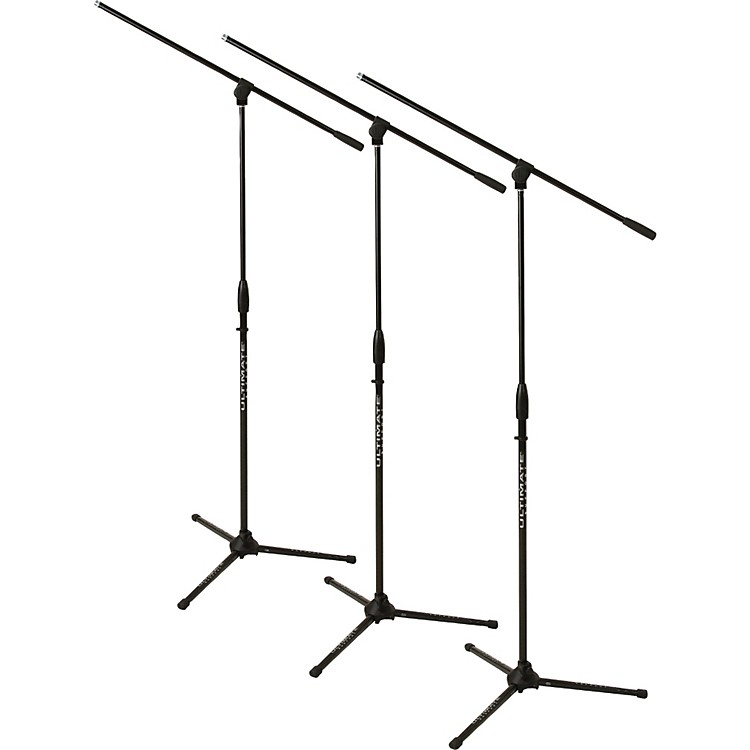 Ultimate Support3-Pack MC-40 Mic Stand & Boom Black