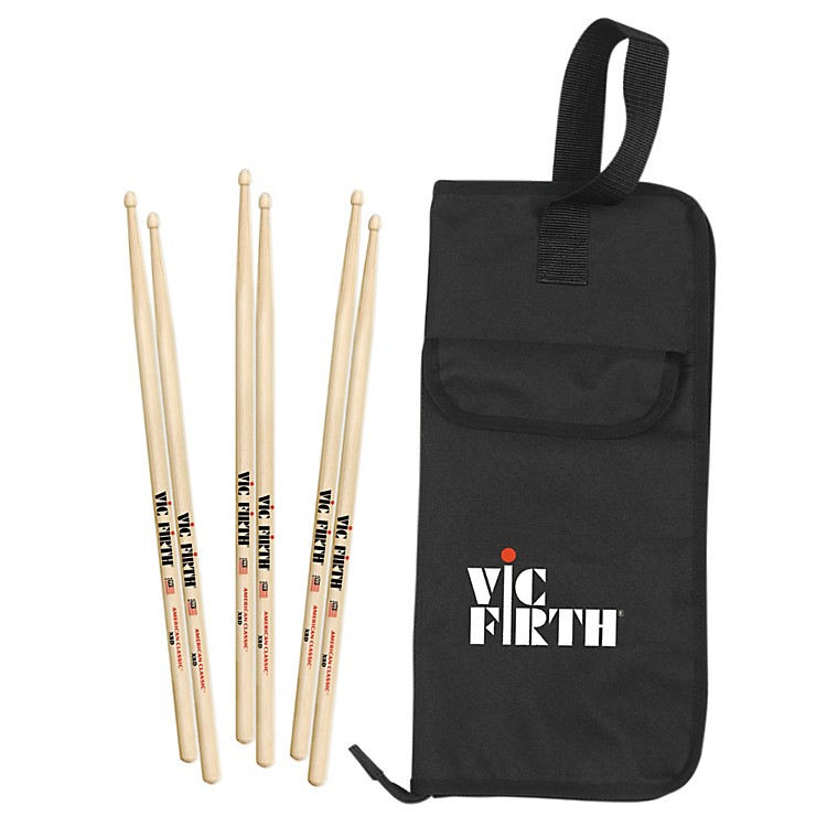 Vic Firth 3 Pair X8D with a Free BSB