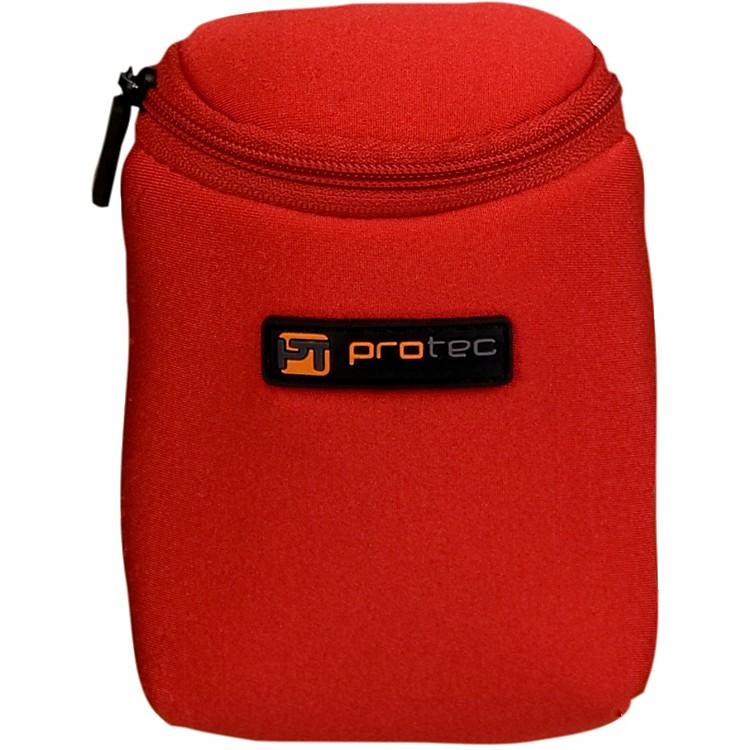 Protec3 Piece Trumpet Neoprene Mouthpiece PouchRed