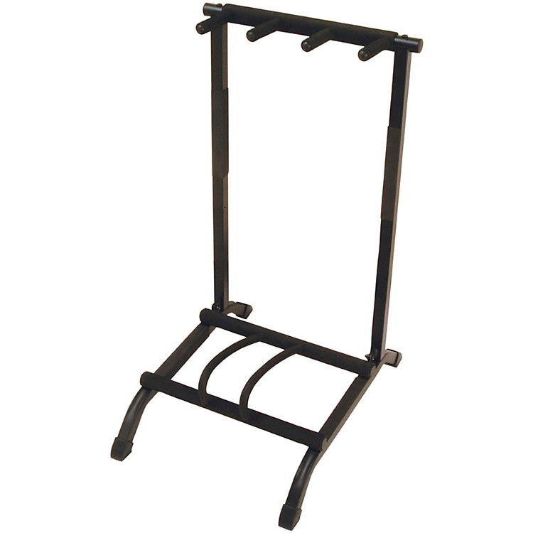 On-Stage Stands 3-Space Foldable Multi Guitar Rack