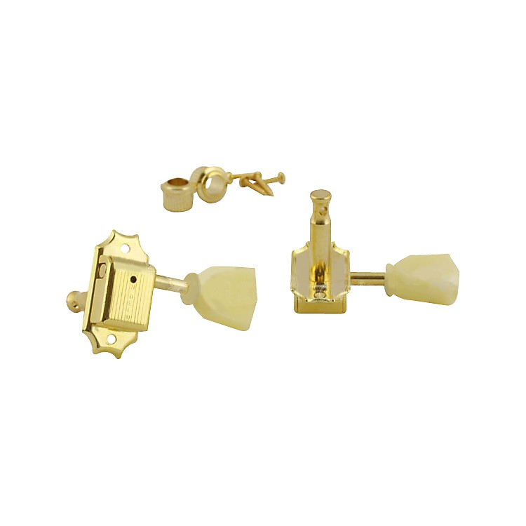 Kluson 3-per-Side Tuning Machines Gold