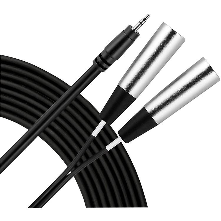 Livewire3.5mm TRS Dual XLR(M) Patch Cable