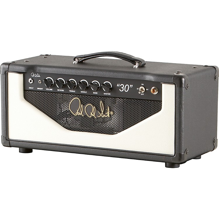 PRS 30 30W Tube Guitar Amp Head Black/White