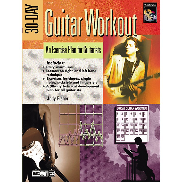 Alfred30-Day Guitar Workout Book