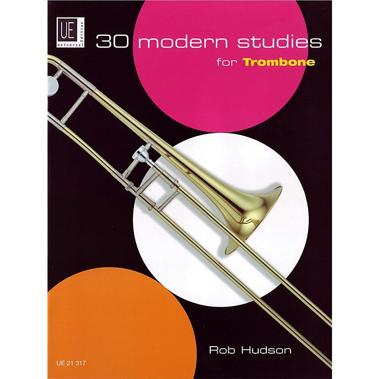 Theodore Presser 30 Modern Studies For Trombone (Book)