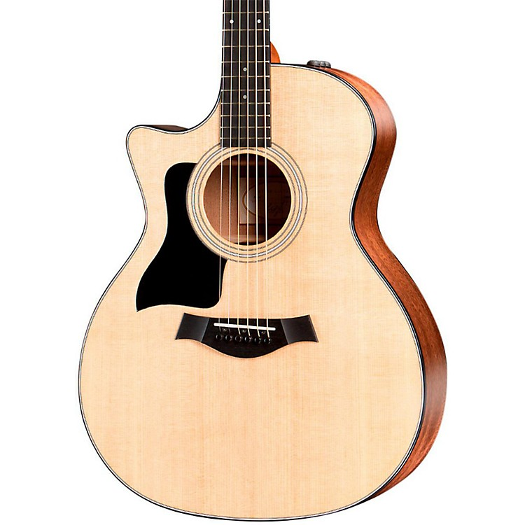 Taylor300 Series 314ce-LH Grand Auditorium Left-Handed Acoustic-Electric GuitarNatural